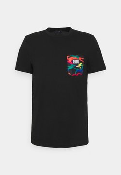 Diesel - PRIDE DIEGO UNISEX - T-shirt con stampa - black