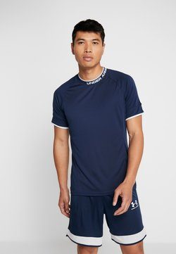 Under Armour - CHALLENGER TRAINING  - T-Shirt print - dark blue