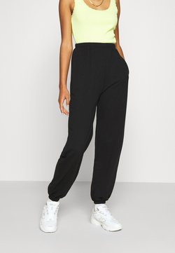 Even&Odd - Loose fit tracksuit bottoms - Jogginghose - black