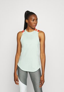 Under Armour - SPORT 2 STRAP TANK - Funktionsshirt - seaglass blue