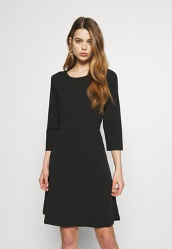 Vero Moda - VMOLIVIA SHORT DRESS - Sukienka z dżerseju - black