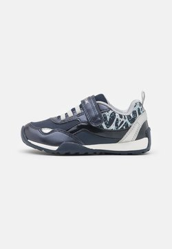 Geox - JOCKER PLUS GIRL - Sneaker low - navy/silver