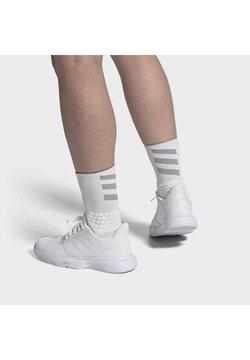 adidas Performance - COURTJAM BOUNCE MULTICOURT LEATHER TENNIS SHOES - Multicourt Tennisschuh - white