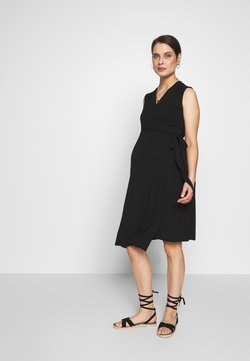 Cake Maternity - WRAP DRESS - Vestido ligero - black
