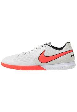 Nike Performance - TIEMPO REACT LEGEND 8 PRO IC - Halówki - platinum tint/bright crimson/white/black