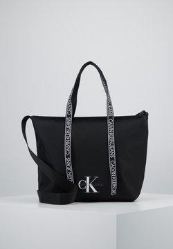 Calvin Klein Jeans - SHOPPER - Shopping bag - black