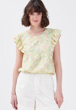 Cache Cache - T-Shirt print - jaune pastel