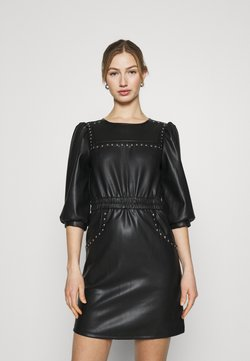 Noisy May - NMHILL SLEEVE STUD DRESS - Robe d'été - black