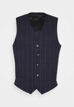 Scotch & Soda - CLASSIC YARN-DYED STRUCTURED GILET - Weste - combo