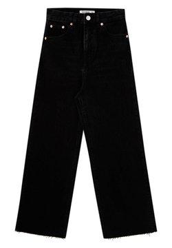 PULL&BEAR - Jeans a zampa - black