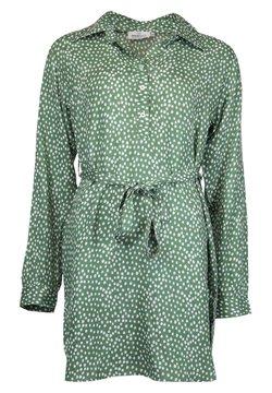 Zwillingsherz - Blusenkleid - grün