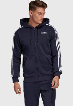 adidas Performance - ESSENTIALS 3 -STREIFEN - Collegetakki - dark blue