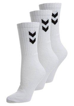 Hummel - BASIC 3 PACK - Urheilusukat - white