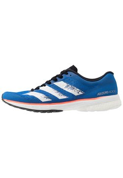 adidas Performance - ADIZERO ADIOS 5 - Zapatillas de running neutras - glowblue/footwear white/solar red
