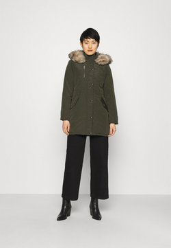 Dorothy Perkins - TRIM COAT - Wintermantel - khaki