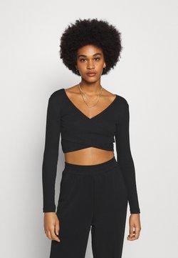 Even&Odd - Langarmshirt - black