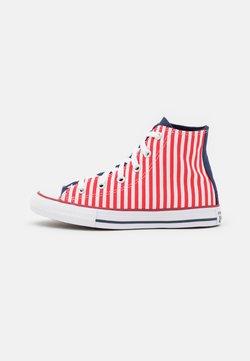 Converse - CHUCK TAYLOR ALL STAR AMERICANA UNISEX - Korkeavartiset tennarit - midnight navy/university red/white