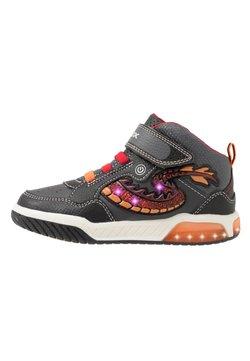 Geox - INEK BOY - Sneaker high - black/red