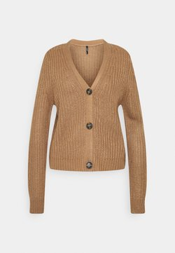 ONLY - ONLLEXI BUTTON CARDIGAN - Gilet - toasted coconut