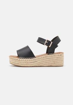 ALDO - ABEARITH - Korkeakorkoiset sandaalit - black
