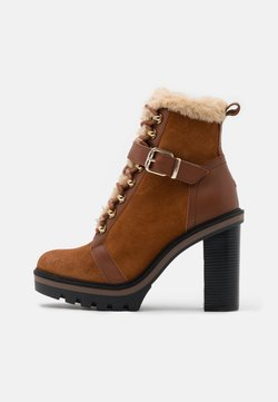 Tommy Hilfiger - WARM LINED BOOT - Plateaustiefelette - pumpkin paradise