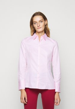 HUGO - THE FITTED - Bluzka - light pastel pink