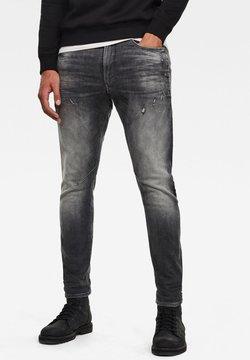 G-Star - D-STAQ 3D SLIM - Jeans Slim Fit - vintage basalt destroyed