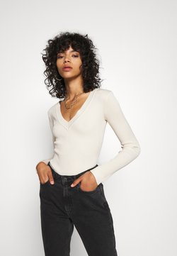 Missguided - NECK BODY - Jumper - sand