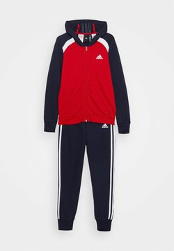 adidas Performance - HOODIE TRAINING SPORTS TRACKSUIT - Tuta - scarlet/legend ink/white