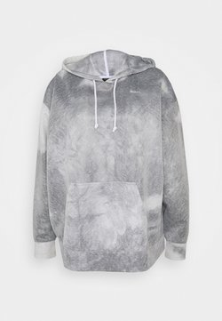 Nike Performance - HOODIE PLUS - Langarmshirt - black/white