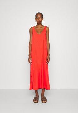 Weekday - ABBY DRESS - Maxi-jurk - bright red