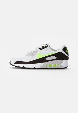 Nike Sportswear - AIR MAX - Sneakers laag - white/hot lime-black-neutral grey