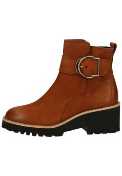 Paul Green - STIEFELETTE - Ankle Boot - cognac-braun 007