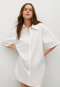 Mango - Sukienka koszulowa - wit