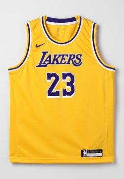 Nike Performance - NBA LA LAKERS LEBON JAMES ICON SWINGMAN - Pelipaita - amarillo