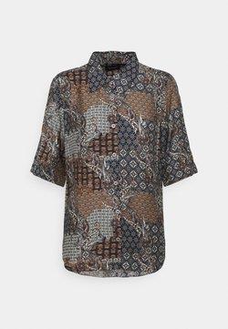 Sand Copenhagen - LATIA - Button-down blouse - black