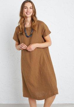 SEASALT - Korte jurk - brown