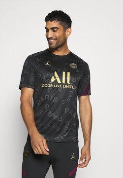 Nike Performance - PARIS ST GERMAIN DRY  - Vereinsmannschaften - black/bordeaux/truly gold