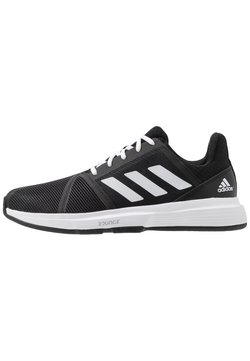 adidas Performance - COURTJAM BOUNCE - Multicourt Tennisschuh - core black/footwear white/metallic silver