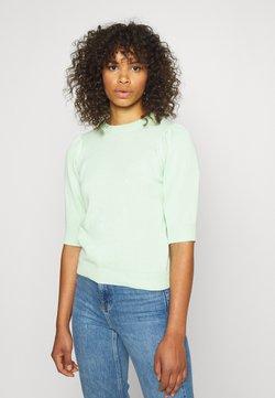 PIECES Tall - PCMASCHA  - Camiseta estampada - pastel green