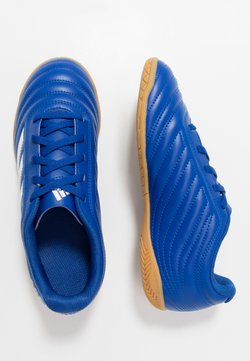 adidas Performance - COPA 20.4 IN - Fußballschuh Halle - royal blue/footwear white