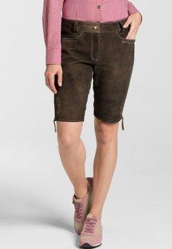 Spieth & Wensky - OXANA - Lederhose - dark brown