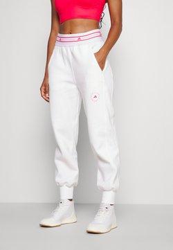 adidas by Stella McCartney - Spodnie treningowe - white