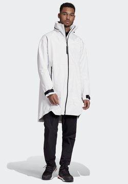 adidas Performance - MYSHELTER RAIN.RDY PARKA - Parka - white