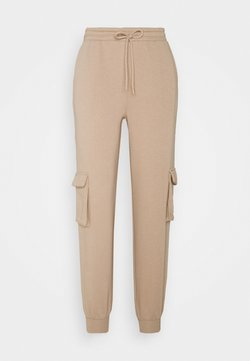 Pieces Petite - PCSARIA PANTS - Jogginghose - natural
