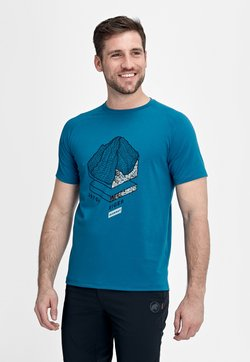 Mammut - MOUNTAIN - T-Shirt print - sapphire