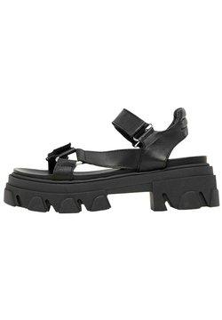 Bianco - Sandales à plateforme - black