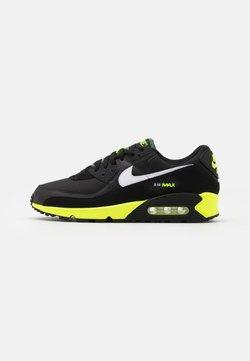 Nike Sportswear - AIR MAX 90 - Sneakers laag - black/white/hot lime