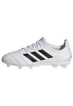 adidas Performance - COPA 20.1 FIRM GROUND BOOTS - Fußballschuh Nocken - white
