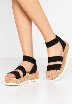 RAID - RICO - Korkeakorkoiset sandaalit - black